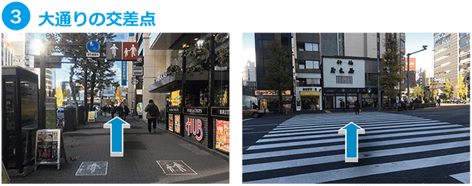 新橋本店アクセスMAP3
